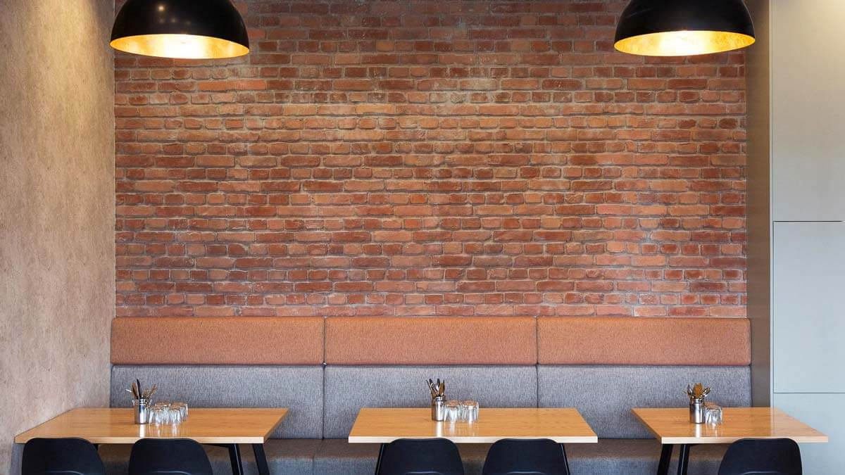 indoor terracotta loft brick wall - muros