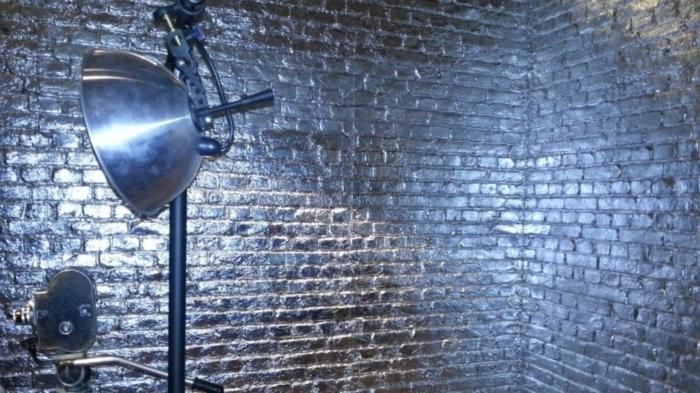 silver loft brick wall panel - muros