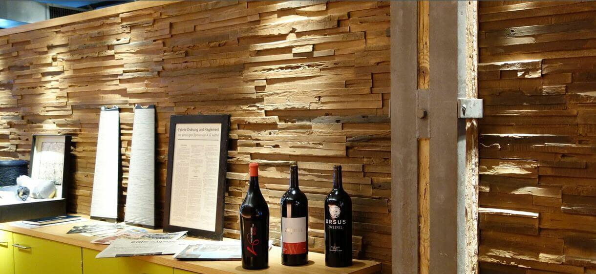 wooden decor wall panel restaurants - muros