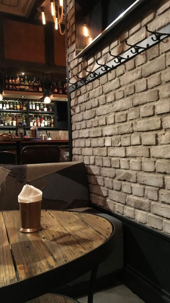 bar brick decor wall panel -muros