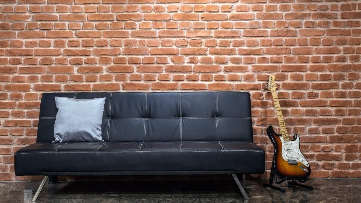 indoor studio faux brick wall panel - muros