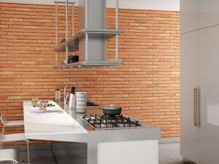 classic brick kitchen interior 3m wall panel - muros