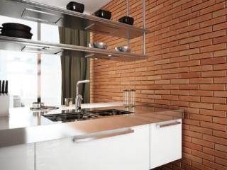 modern kitchen brick decor wall panel - muros