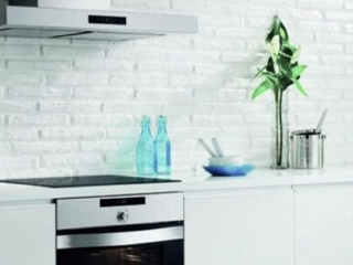 Muros White Slimline Brick-Kitchen Splasback