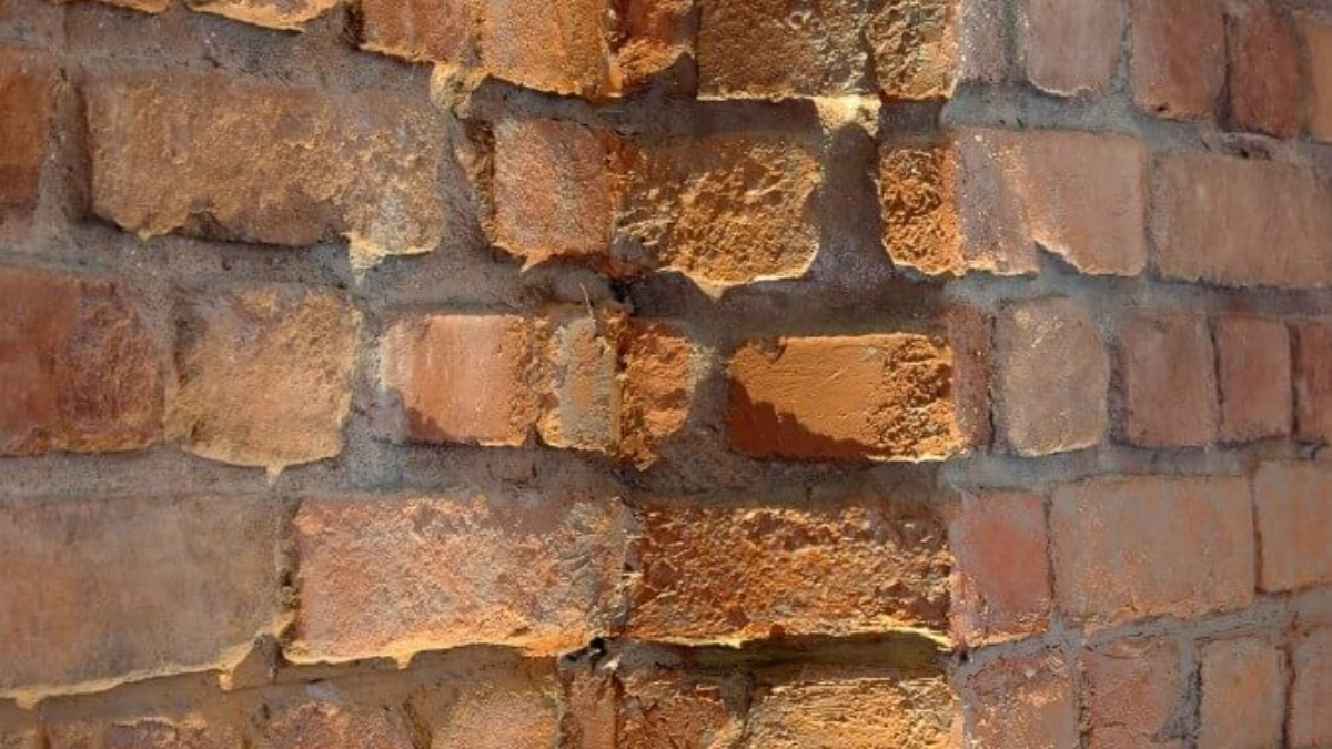 faux terracotta loft brick wall - muros