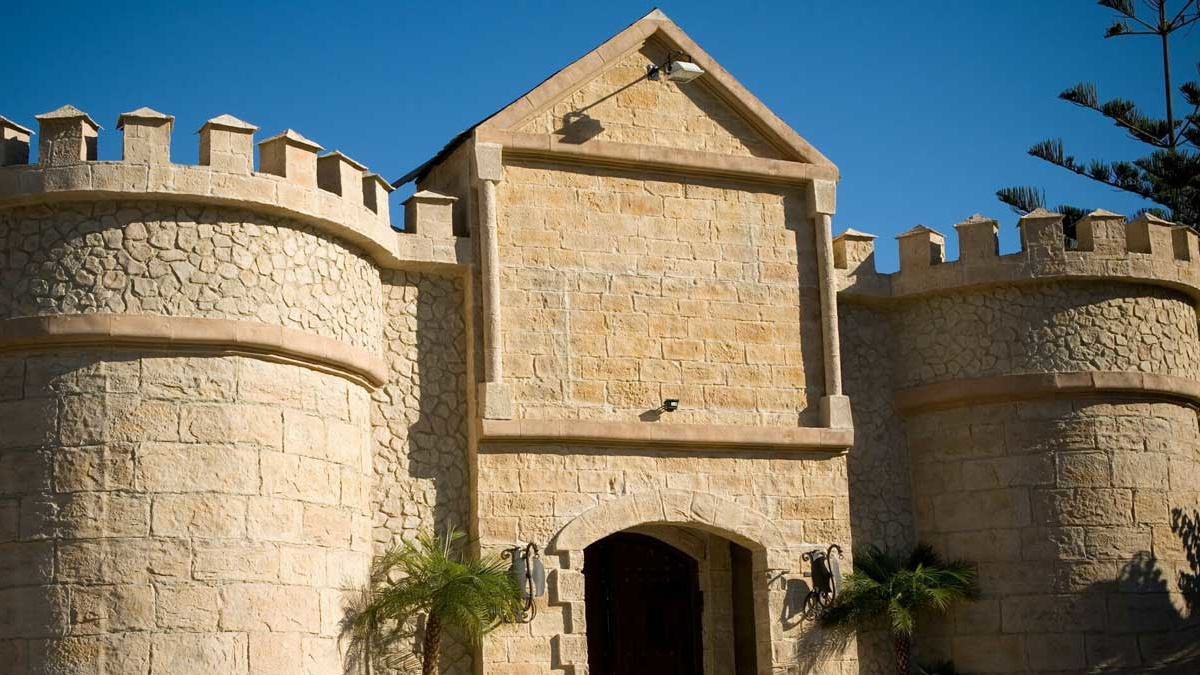 classic exterior castle stone 3m wall panel - muros