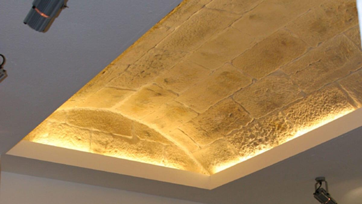 interior white architectural stone 3m wall panel - muros