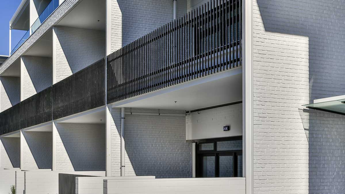 contemporary exterior white stone 3m wall panel - muros