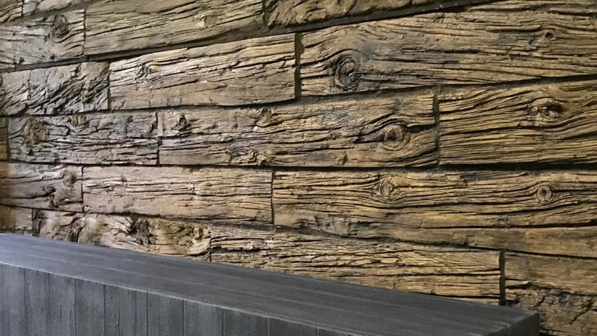 modern wood interior 3m wall panel - muros