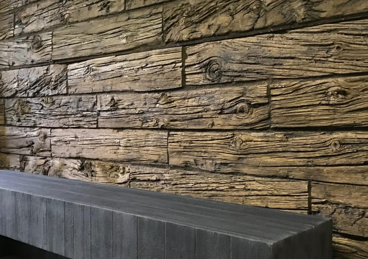 modern wood interior 3m wall panel - muros