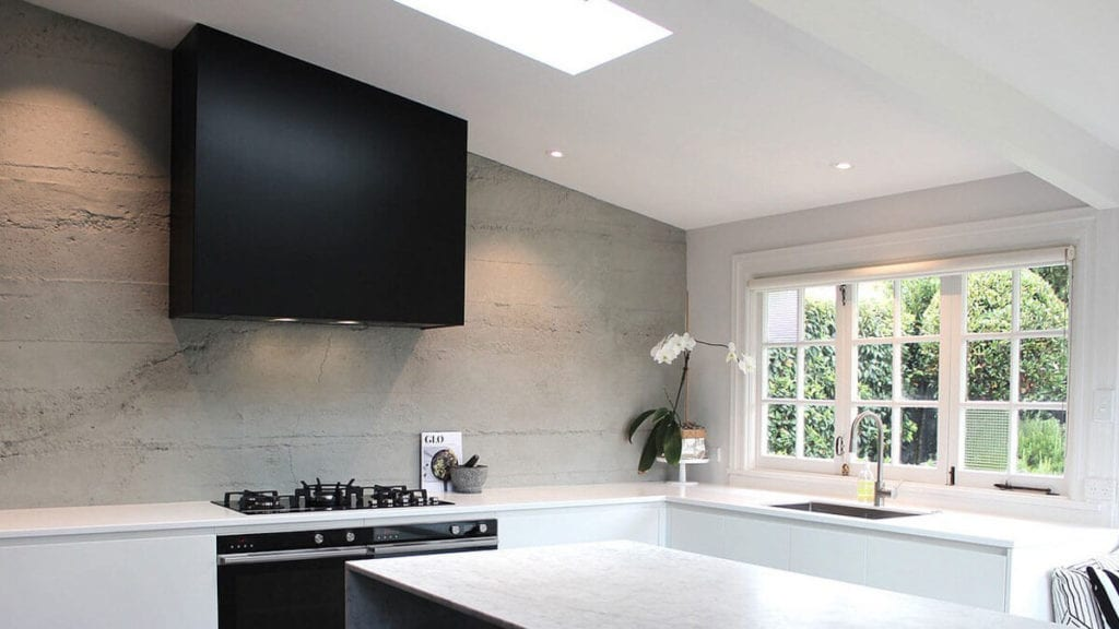 modern kitchen grey stone 3m wall panel - muros