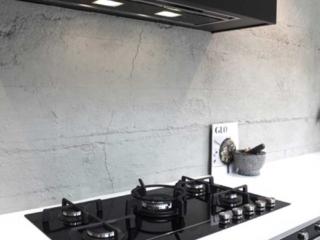 modern kitchen interior stone 3m wall panel - muros
