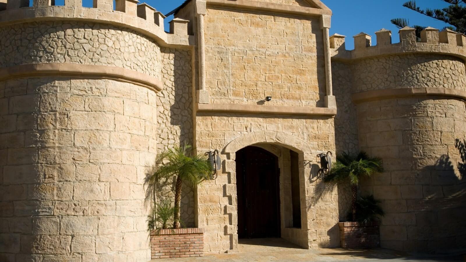 contemporary castle stone 3m wall panel - muros