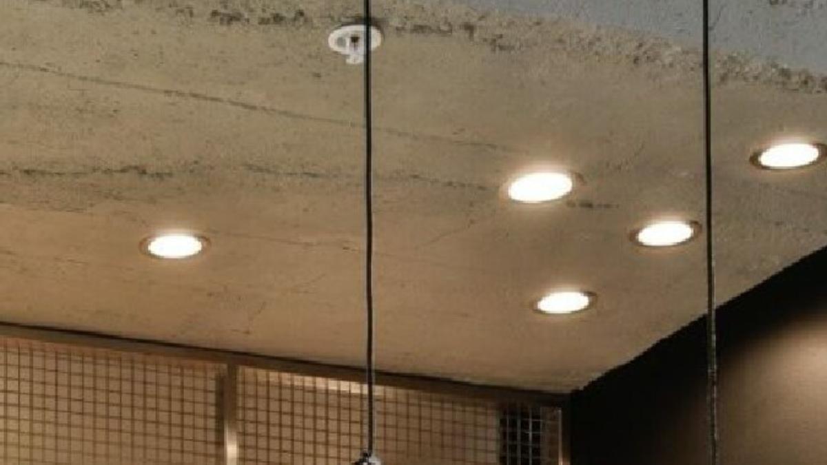 Muros Grey Roughcast for Ceiling