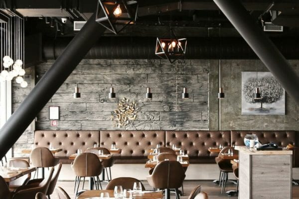 Muros Ash Wooden Sleepers Seating For Auckland Restaurant