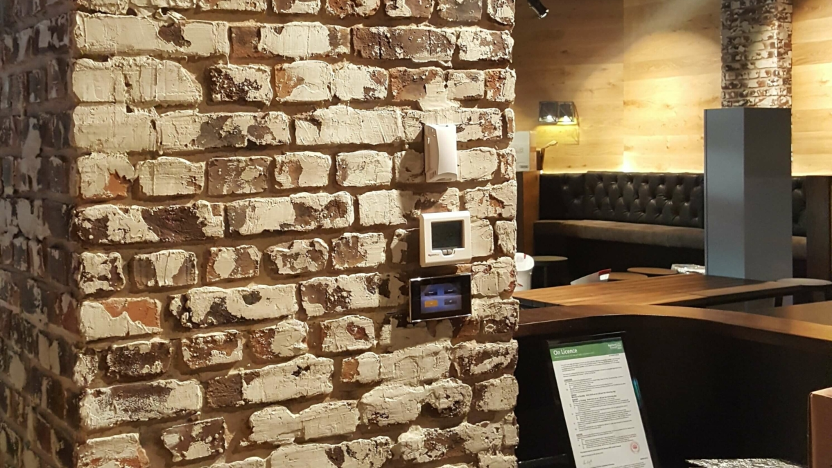 Rustic Loft Brick Plaster Finish for Commercial