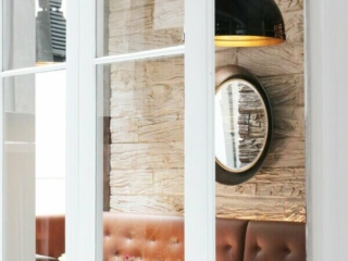 Bone Wooden Sleepers for Hospitality and Restaurant interiors